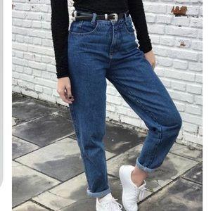 70's Vintage Levi's Orange Tag High Rise Jeans